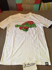 Nike Air Jordan 11 XI Space Jam Tee T-Shirt T Medium M New White 845000-100 Tune