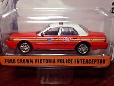 GreenLight 1/64 Ford Crown Victoria Interceptor - FDNY Hobby Excusive 2014