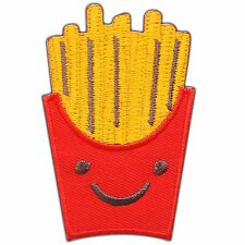 French Fries Snack Best Potato Chips Fast Food Cartoon Kid Iron-On Patches #0684