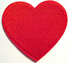 Rouge Coeur écusson/aufbügler Heart patch Bügelbild enfants poker application