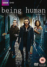 Being Human - Series 2 - Complete (DVD, 3-Disc Set)  FREE UK P+P ...............