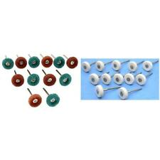 Satin Finish Buff & Felt Buffing Wheels Jewelry Polishing Tools Kit 24 Pcs