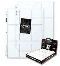 { Coupon sleeves for binders or baseball cards 20/set }