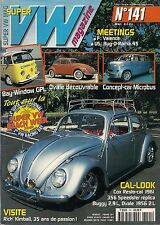 SUPER VW MAGAZINE N°141 TOUT SUR LA SUPER VW BEACH WEEK 2001 MAI 2001