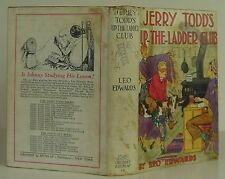 LEO EDWARDS Jerry Todd's Up-The-Ladder Club FIRST EDITION