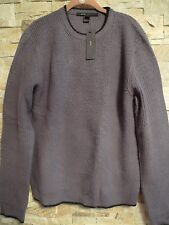 $465.MARC JACOBS MENS GREY CREWNECK SWEATHER SIZE M