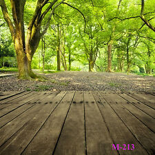 5X7FT Thin Vinyl Studio Nature Forest Photography Backdrop Photo Background M213