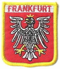 Frankfurt Germany Embroidered Patch - Sew on
