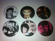 6 Mink DeVille button pin badges 25mm Willy CBGB Cadillac Walk Spanish Stroll