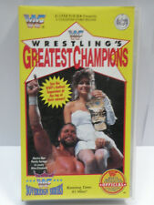 WWF VHS Video Tape * WRESTLING'S GREATEST CHAMPIONS * WWE Wrestling Video WW102