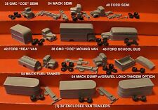 """RICO'S """"SUPER TRUCK PACK 2"""" - 11 VEHICLES - N SCALE - RRR/FNS"""