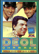 DEOL DHAMAKA - NEW BOLLYWOOD HIT 20 SONGS DVD - FREE UK POST