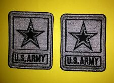 2 Lot U.S. United States Army Shoulder Uniform Jacket Velcro Patch Crest Cosplay