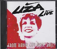 LIZA MINNELLI - LIVE FROM RADIO CITY MUSIC HALL  CD - NEW