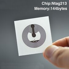 3pcs. Best Quality NFC Tags Stickers NTAG213 chip Label universal nfc stickers