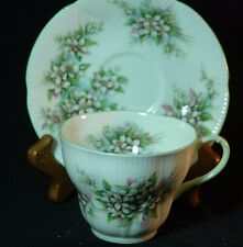 Royal Albert Blossomtime Series Orange Blossom Cup and Saucer
