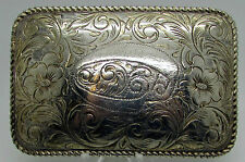 Sterling Silver Belt Buckle San Carlos Crumine Jewelers Santa Ana California