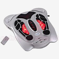 Circulation Medically Blood Booster Foot Massager Infrared remote control health