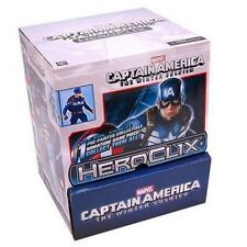 HEROCLIX MARVEL CAPTAIN AMERICA WINTER SOLDIER GRAVITY FEED 24 PACKS