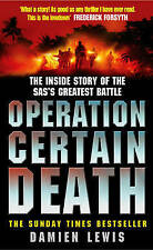 Operation Certain Death, Damien Lewis, Very Good condition, Book
