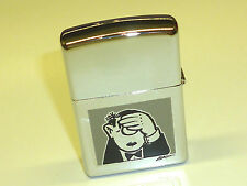 "VINTAGE ZIPPO ""LORIOT"" LIGHTER - HIGH POLISH CHROME -LACQUER -NEVER STRUCK -2000"