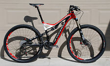 Specialized Stumpjumper FSR Expert Carbon 29 29er mountain bike Large Fox Brain