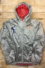 Puma x Red Bull Racing Team Full Zip Jacket Mens Medium Silver Hooded Official