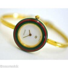 Authentic Gucci Watch Ladies Interchangeable Bezels 1100L 11/12.2 PETITE Size