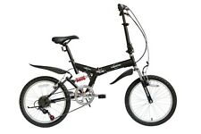 "Ecosmo 20"" Folding Mountain Bicycle Bike 6SP SHIMANO-20SF02BL"