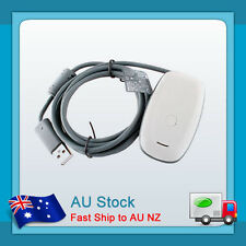 White New PC Wireless USB Gaming Receiver Adapter For X box 360 Controller Win7