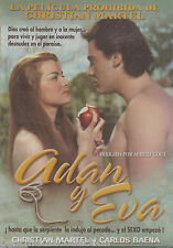 SEALED Adan y Eva DVD NEW Christian Martel y Carlos Baena 7506036000036