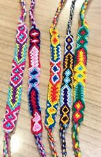 FRIENDSHIP BRACELETS Woven Wholesale Of 50 Wristbands Handmade Fair Trade Gifts