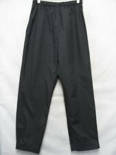 A8549 REI Black Polyester High Grade Track Pants Kids L
