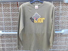 NOS Thor MX Clean Army Mens Long Sleeve Top Shirt Sweatshirt 3030-0732