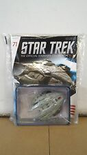 *#71 STAR TREK STARSHIPS COLLECTION GOROTH KLINGON TRANSPORT SHIP ENTERPRISE