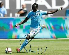 Kwadwo Poku New York City FC Soccer Football signed 8x10 photo w/COA