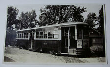 USA694 BROOKLYN & QUEENS TRANSIT Co TROLLEY No6115 PHOTO New York