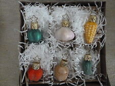 Christmas ornaments germany inge-glas pepper garlic corn tomato potato pickle