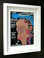 JEAN MICHEL BASQUIAT - A 1970s ACRYLIC & GOUACHE PAINTING, NEO EXPRESSIONISM NYC