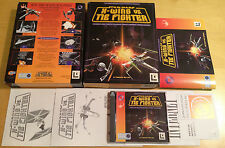 STAR WARS X-WING VS TIE FIGHTER BIG BOX VERSION for PC COMPLETE by Lucas Arts