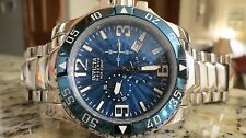 Invicta Reserve Excursion Chronograph Men's Watch Blue 10897 Swiss Made