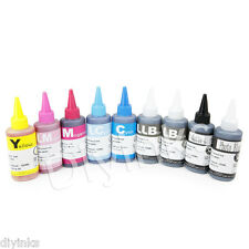 Compatible Refill Dye INK Set For Epson R3000 CISS CIS 900ml