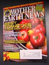 MOTHER EARTH NEWS MAGAZINE FEB/MAR 2010 BEST TOMATOES HOME TO GROW SOLAR PANELS