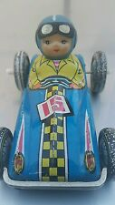 VINTAGE CAR TIN TOY WIND UP MS 122 CHINA RACER N15 UNIQUE RARE