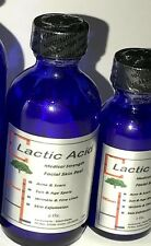 Lactic Acid Peel 25% Professional Medical strength acne anti aging 1 Oz