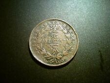 1889H BRITISH NORTH BORNEO (MALAYSIA) CENT COIN. SCARCE