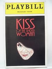 KISS OF THE SPIDER WOMAN Playbill CHITA RIVERA / BRENT CARVER NYC 1993