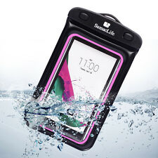 Pink Waterproof Pouch Dry Bag Case For LG G4 / G3 Vigor / G Vista