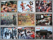 """Set of (11) chinese Lcs Kung Fu GOLDEN MASK Movie Poster Lobby Cards 11x14"""" 70s"""