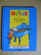 Livre Octave et son piano pour découvrir les instruments /D7
